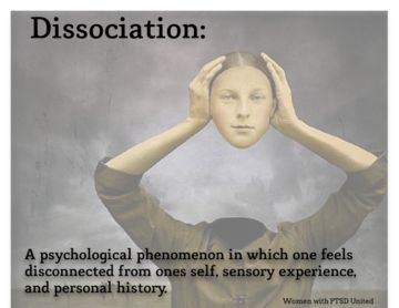 Dissociation, Dissociative Identity Disorder, PTSD, Post Traumatic Stress Disorder, derealization