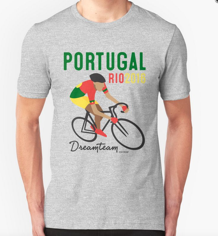 t-shirt limited edition olympic cycling games Portugal dreamteam