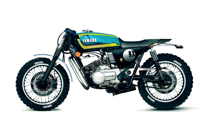 concept : Yamaha RX100 RX135