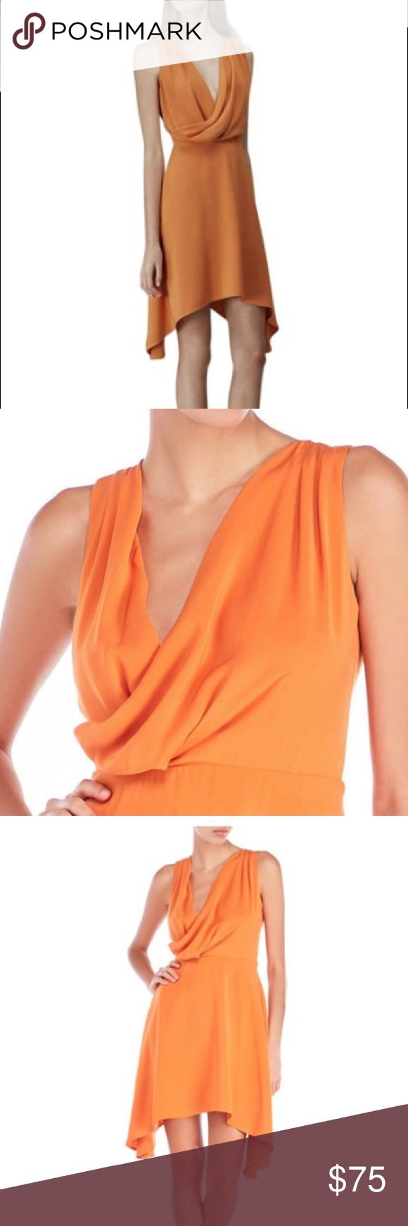 Keepsake The Label Escape Mini Dress in Tangerine New with tags Keepsake the Label tangerine dress size large. KEEPSAKE the Label Dresses Mini