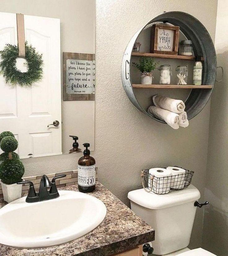 20+ Wonderful Farmhouse Bathroom Decor Ideas – farmhouse