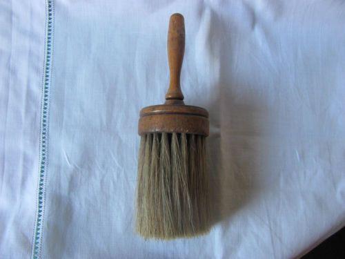 Barber Neck Duster : Vintage Barber Shop Neck Duster Brush Antique Primitive Wood Handle ...