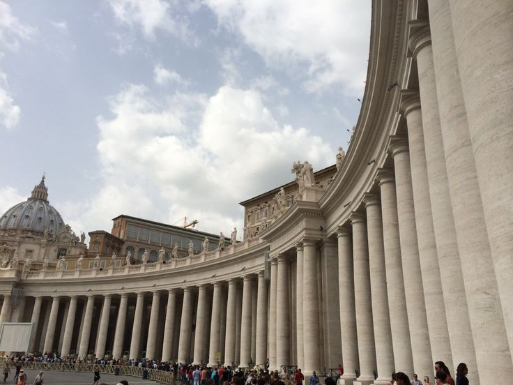 Visiting glorious Vatican City, part 2 of my Rome in a Day blogs... http://jerseygirl.co/2015/02/22/rome-in-a-day-part-ii-vatican-city/#more-1100