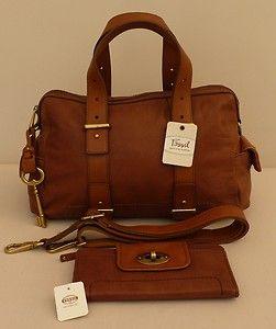 "Fossil Medium/Large Satchel/Multiway Bag & Purse - ""Mason"" - RRP £276 - NEW | eBay"