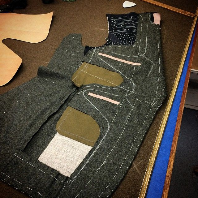 Work in progress - Bentley driver's jacket.