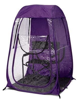 WOW!! For rainy events... PURPLE UNDER THE WEATHER TENT