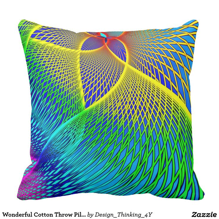 Wonderful Cotton #Throw #Pillow In #Abstract #Design. Cotton ThrowsDesign ThinkingBusiness IdeasAwesome ...