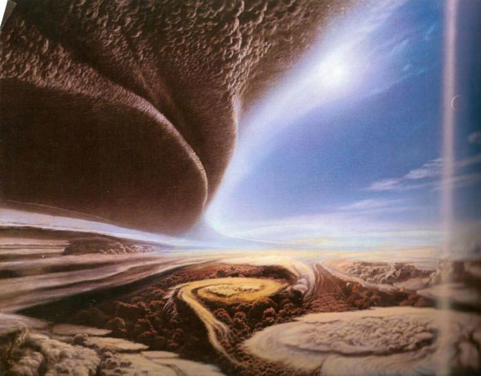 Artists rendering of Jupiter's surface looks beautiful | Pinterest | Artist