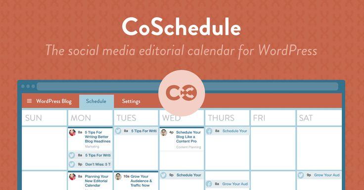 CoSchedule: o calendário editorial definitivo para o seu blog
