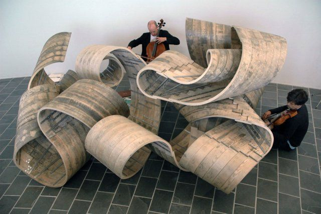Courtesy Richard Deacon and Lisson Gallery