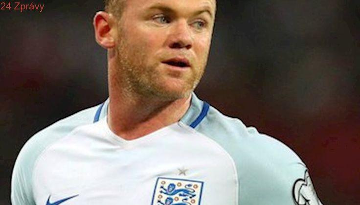 Sbohem, Anglie! Nejlepší střelec Wayne Rooney ukončil reprezentační kariéru