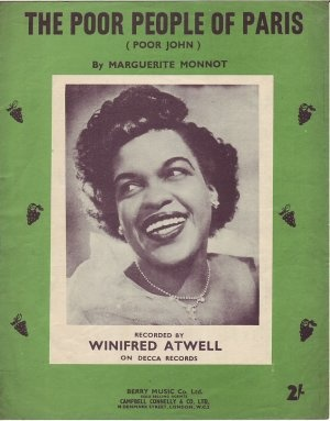 April 1956, Winifred Atwell, The Poor People of Paris.