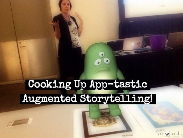 COOKING UP AUGMENTED STORYTELLING by Lisa Johnson - TechChef