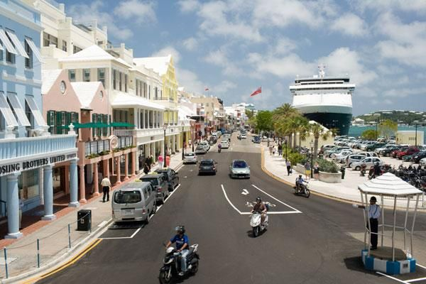 The vibrant City of Hamilton - Bermuda shopping at its best. Pin provided by Elbow Beach Cycles http://www.elbowbeachcycles.com