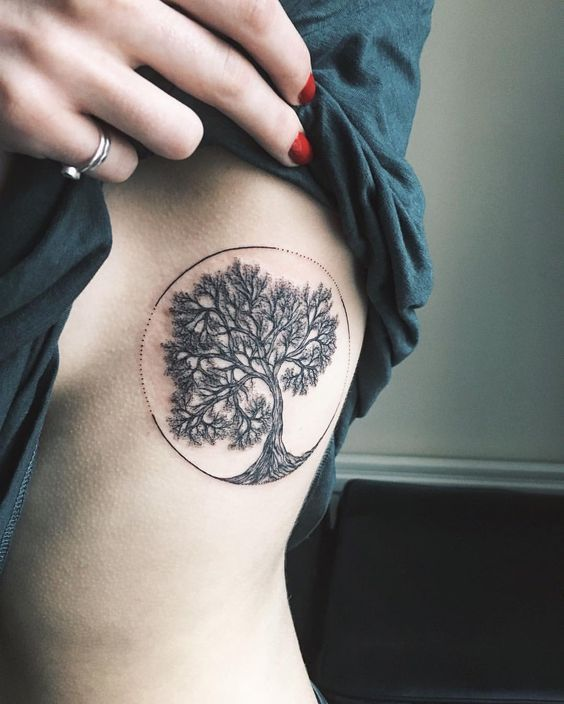 """1,498 Likes, 11 Comments - Yaana Gyach • tattoo artist (@yg.tattooing) on Instagram: """"tree of life for Connie✨ ✖️yg.tattooing@gmail.com • • • #ygtattooing #gyachyaana #linework…"""""""