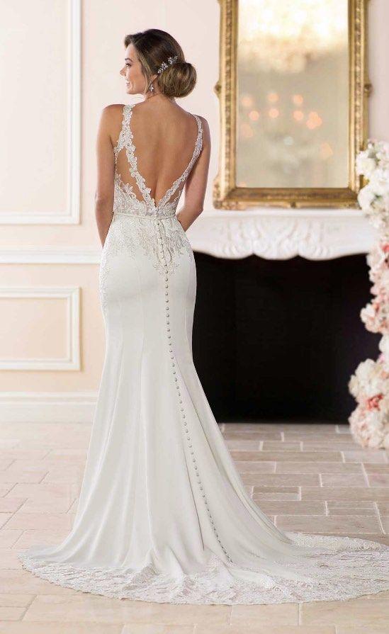 Courtesy of Stella York Wedding Dresses; Wedding dress idea.
