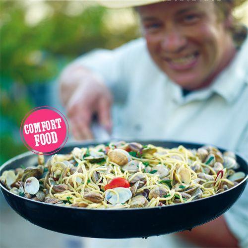 Spaghetti vongole recept - Jamie magazine