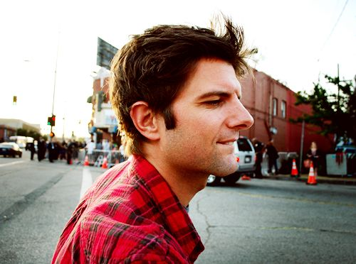 Thanks to Parks and Recreation I now have a crush on the adorable Adam Scott