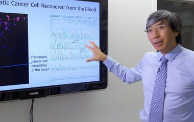 Disrupting Cancer.  Dr. Patrick Soon-Shiong, a scientist, surgeon and billionaire businessman.http://www.cbsnews.com/news/tech-companies-join-battle-in-the-war-on-cancer/