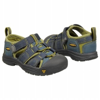 Keen Newport H2 Inf/Tod Shoes (Mdnght Navy/Woodbine) - Kids' Shoes - 6.0 M