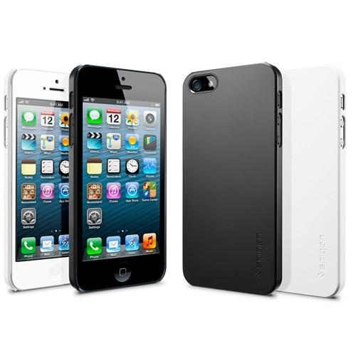 Carcasa iPhone 5 Thin Air - White de la SPIGEN SGP