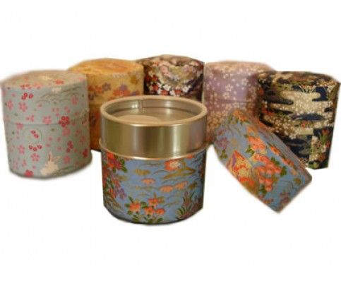 Washi Tea Storage Containers | Washi Tea Storage Tins~~WEDDING FAVORE!!~~~$8EACH