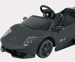 forget power wheels now you can get your spoiled little brat an electric driveable car