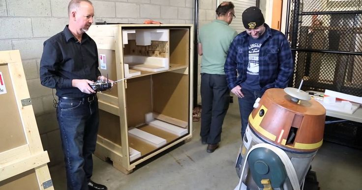 'Star Wars Rebels' Featurette Brings Astromech Droid Chopper to Life -- The R2D2 Builders Club at LucasFilm spent 87 days building a full-scale model of Chopper for animators to reference while working on 'Star Wars: Rebels'. Take a look at the droid in action. -- http://www.movieweb.com/news/star-wars-rebels-featurette-brings-astromech-droid-chopper-to-life
