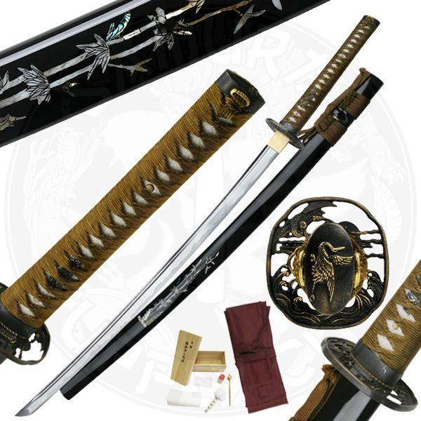 Bushido Bamboo Pearl Katana Sword - MC3060
