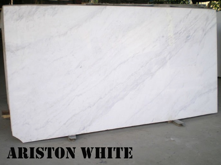 Ariston White Marble Slab Marble Pinterest Marbles