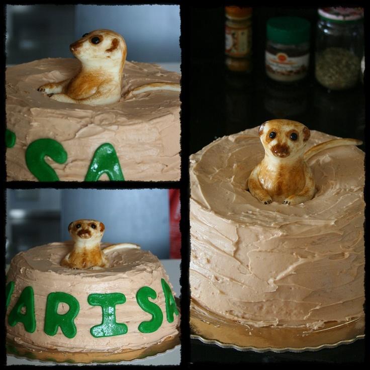 Meerkat cake