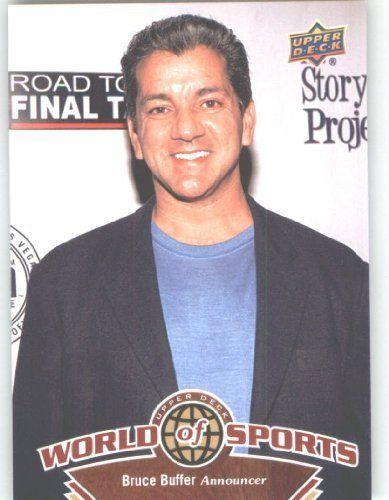 2010 Upper Deck World of Sports Trading Card # 251 Bruce Buffer - MMA Announcer - USA by Upper Deck. $1.87. 2010 Upper Deck World of Sports Trading Card # 251 Bruce Buffer - MMA Announcer - USA