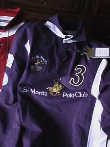 Polo-Shirt-St-Moritz-Polo-Club-Swiss-XXS-NEW-joueur-n-3