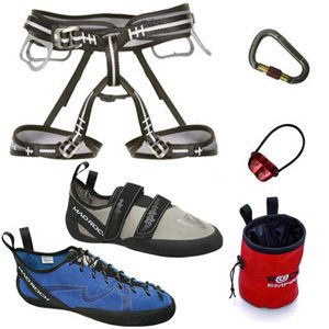 Everything I need!!!!  Acme Deluxe Climbing Gear Package | Rock Climbing Equipment Package | Acme Climbing Gear, Climbing Equipment, Mountaineering Gear