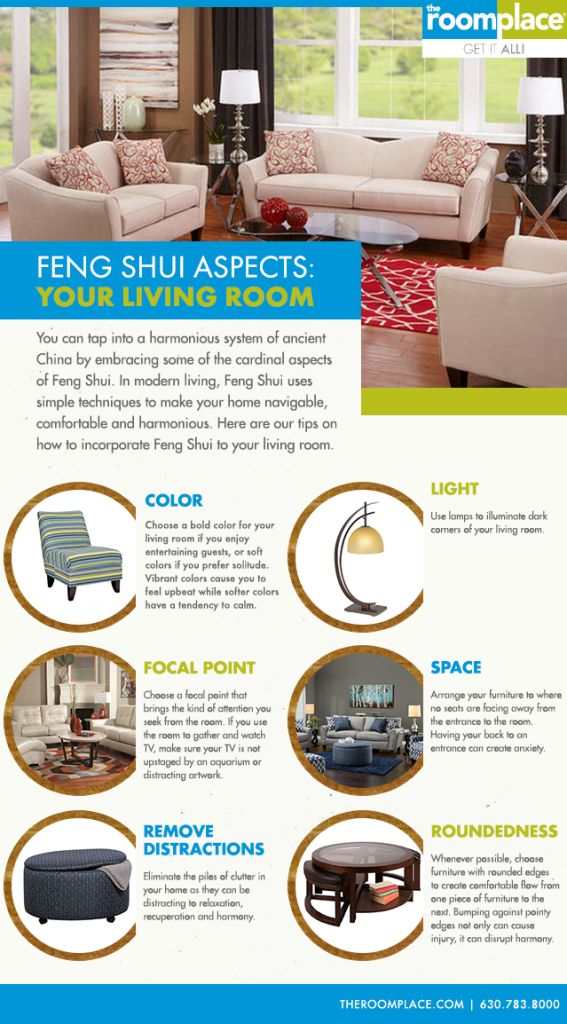 Incorporate Some Feng Shui Into Your Living Room Decoration With Easy Color Light Space
