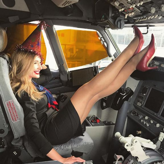 American Airlines Boeing B737 flight attendant Megan Drost enjoyed her birthday(back in November) in the Captain's seat!   By Firas. #aviation #airport #airplane #plane #aircraft #flight #planespotting #beautiful #aviationlovers #cockpit #fly #boeing #airbus #crew #pilot #sky #travel #amazing #avgeek  #airshow #jet