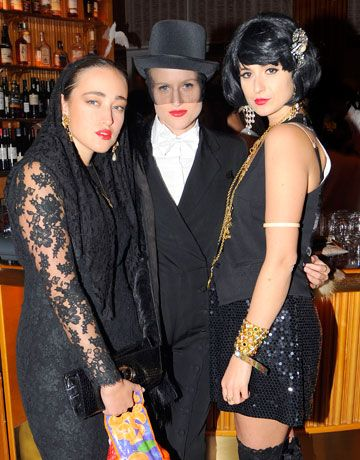 The Standard Hotel's Sinners & Saints Party - Mavi Scaiano, Olympia Scarry, Elisabeth von Thurn Und Taxis    Read more: Celebrity Halloween Costumes - Pictures of Celebrity and Fashion Halloween Costumes - Harper's BAZAAR