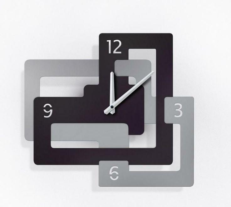 Zegar ścienny Cubico  - DECORTIS.COM