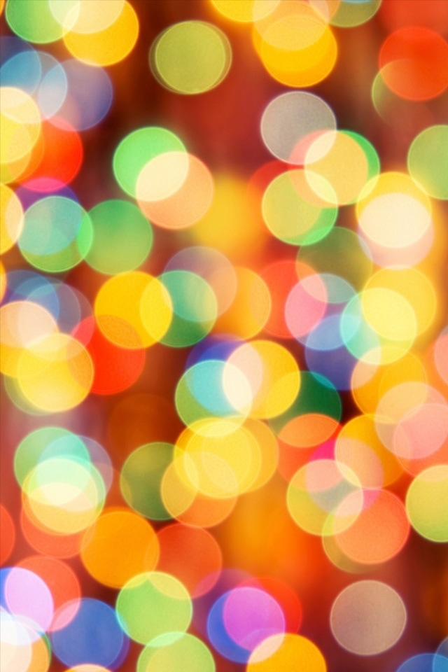 Christmas Lights Iphone BackgroundsNice