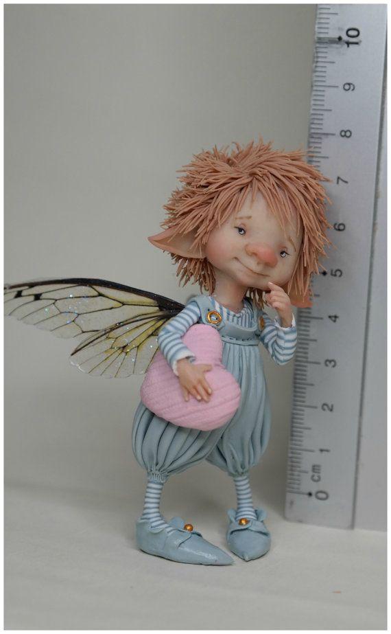 Фея кукол маленький Фредо по enaidworld на etsy