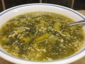 Summer Garden Greens Soup