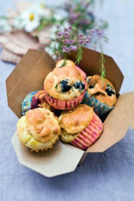 Des muffins pour le plaisir des yeux et du goût