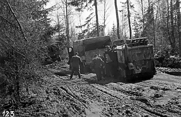 Russian roads WW2