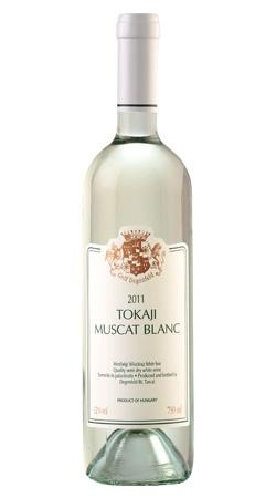 Gróf Degenfeld Muscat Blanc 2011 Tokaj - nem győzött meg, savai nincsenek egyensúlyban