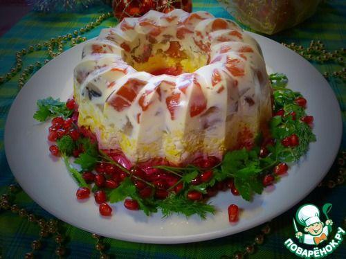 """Салат """"Сельдь под шубой"""" в новом амплуа - кулинарный рецепт"""