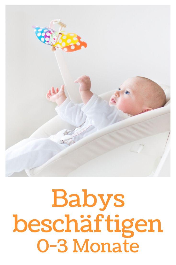 Baby 3 Monate Beschäftigen