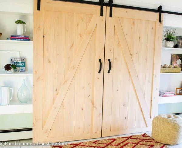 1000 ideas about exterior barn door hardware on pinterest - Exterior sliding door hardware kits ...