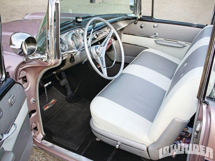 1957 Chevrolet Bel Air Convertible Interior
