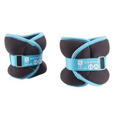 Tonificazione Materiale fitness, Palestra - Pesi per caviglie o polsi DOMYOS -  1kg o 1,5 kg o 2 kg Yoga,Pilates,Accessori fitness