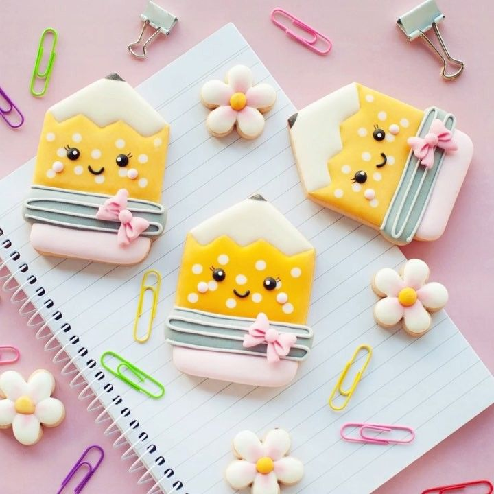 Fondant  Cookie Cutter  Baking  Gift  Birthday  Baby Shower  Party Favor School Pencil